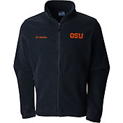 Columbia Men's Oregon State Beavers Grey Flaker II Full-Zip Fleece