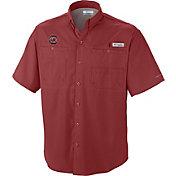 Columbia Men's South Carolina Gamecocks Garnet Tamiami Shirt