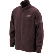 Columbia Men's Southern Illinois Salukis Maroon Flanker Full-Zip Fleece Jacket