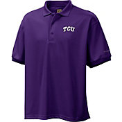 Columbia Men's TCU Horned Frogs Purple Perfect Cast Performance Polo