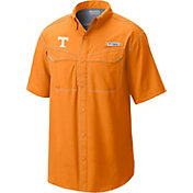 Columbia Men's Tennessee Volunteers Tennessee Orange Low Drag Offshore Short Sleeve Shirt