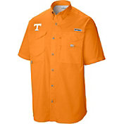 Columbia Men's Tennessee Volunteers Tennessee Orange Tamiami Performance Short Sleeve Shirt