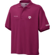 Columbia Men's Texas A&M Aggies Maroon Perfect Cast Performance Polo