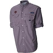 Columbia Men's Texas A&M Aggies Maroon Super Bonehead Long Sleeve Shirt