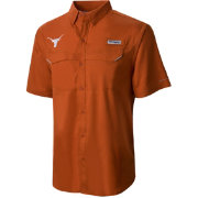 Columbia Men's Texas Longhorns Burnt Orange Low Drag Offshore Shirt
