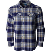 Columbia Men's Washington Huskies Purple Plaid Flare Gun Flannel Long Sleeve Shirt