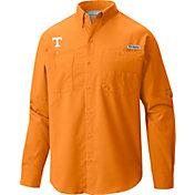Columbia Men's Tennessee Volunteers Tennessee Orange Tamiami Long Sleeve Shirt