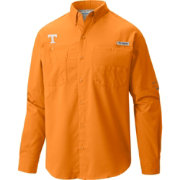 Columbia Men's Tennessee Volunteers Tennessee Orange Tamiami Long Sleeve Shirt