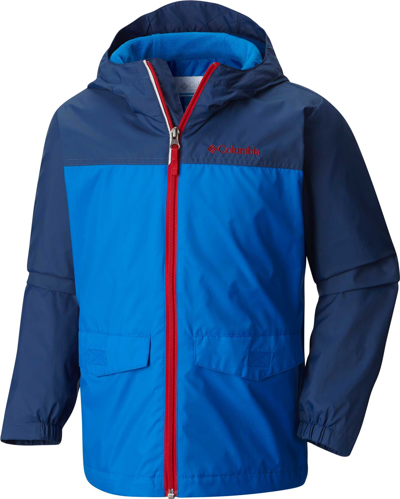 columbia toddler boys rain zilla rain jacket dick s sporting goods #2: 16cmbttddbrnzlljcapo super blue carbon is