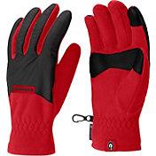 Columbia Georgia Bulldogs Overlay Gloves