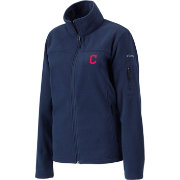 Columbia Women's Cleveland Indians Give and Go Full Zip Fleece Jacket