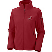 Columbia Women's Alabama Crimson Tide Crimson Give and Go Full-Zip Fleece