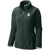 Columbia Women's Michigan State Spartans Green Fuller Ridge Fleece Jacket