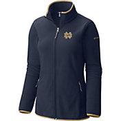 Columbia Women's Notre Dame Fighting Irish Navy Fuller Ridge Fleece Jacket
