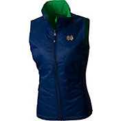 Columbia Women's Notre Dame Fighting Irish Navy Reversible Powder Puff Vest