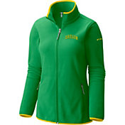 Columbia Women's Oregon Ducks Green Fuller Ridge Fleece Jacket