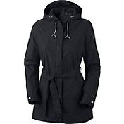 Columbia Women's Plus-Size Pardon My Trench Rain Jacket