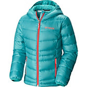 Columbia Girls' Gold 550 TurboDown Hooded Jacket