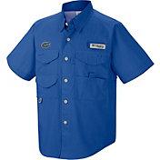 Columbia Youth Florida Gators Blue Bonehead Shirt