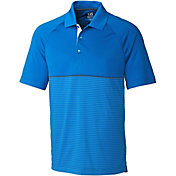 Cutter & Buck Men's CB DryTec Junction Stripe Hybrid Golf Polo