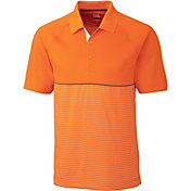 Cutter & Buck Men's CB DryTec Junction Stripe Hybrid Golf Polo