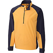 Cutter & Buck Men's CB WeatherTec Summit Quarter-Zip Long Sleeve Golf Pullover