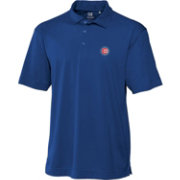 Cutter & Buck Men's Chicago Cubs Royal Genre DryTec Performance Polo