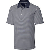 Cutter & Buck Men's CB DryTec Trevor Stripe Golf Polo