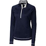 Cutter & Buck Women's DryTec Long Sleeve Evolve Half-Zip Golf Jacket