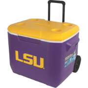 Coleman LSU Tigers 60qt Wheeled Cooler