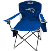 Coleman New England Patriots XL Quad Chair With Cooler