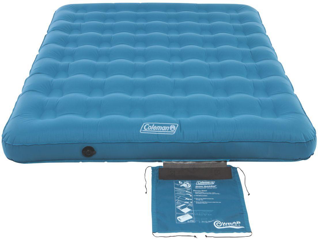 product image coleman durarest single height queen air mattress