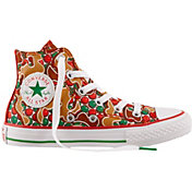 Converse Kids' Grade School Chuck Taylor All Star Gingerbread Hi-Top Casual Shoes