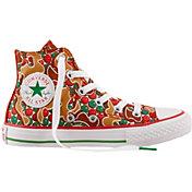 Converse Kids' Grade School Chuck Taylor All Star Gingerbread Hi-Top Shoes