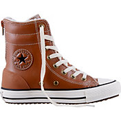 Converse Kids' Grade School Chuck Taylor All Star Street Suede Hi-Top Boots