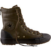 Converse Women's Chuck Taylor All Star Street Leather Hi-Top Boots