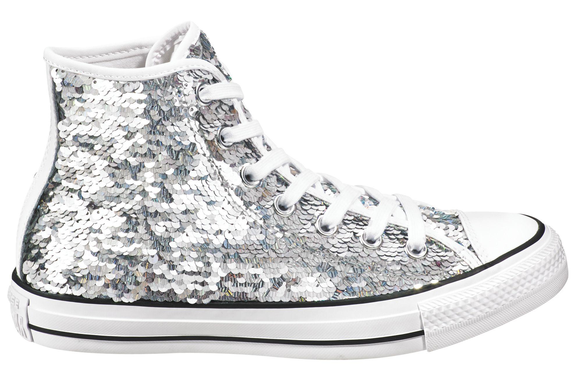169d9f9aca7 converse chuck taylor silver sequin