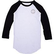 Converse Women's Chuck Patch 3/4 Sleeve Raglan T-Shirt