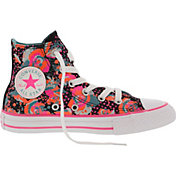 Converse Kids' Grade School Chuck Taylor All Star Classic High-Top Casual Shoes