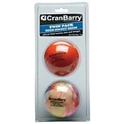 CranBarry Supersmooth Turf Field Hockey Balls - 2 Pack