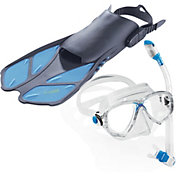Cressi Travel Light Professional Snorkeling Set