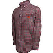 Campus Specialties Men's Maryland Terrapins Multi-Checkered Woven Long Sleeve Shirt