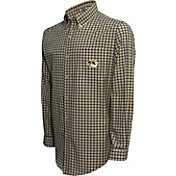 Campus Specialties Men's Missouri Tigers Multi-Checkered Woven Long Sleeve Shirt