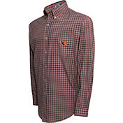 Campus Specialties Men's Oregon State Beavers Multi-Checkered Woven Long Sleeve Shirt