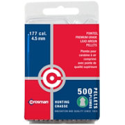 Crosman .177 Caliber Hunting Pellets - 500 Count