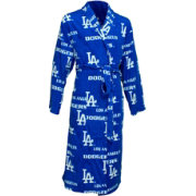 Concepts Sport Men's Los Angeles Dodgers All-Over Logo Royal Robe