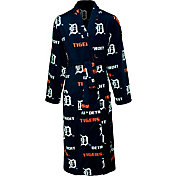 Concepts Sport Men's Detroit Tigers All-Over Logo Navy Robe