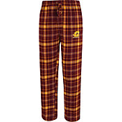 Concepts Sport Men's Central Michigan Chippewas Maroon/Gold Ultimate Plaid Sleep Pants