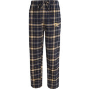 Concepts Sport Men's Georgia Tech Yellow Jackets Navy/Gold Ultimate Plaid Sleep Pants