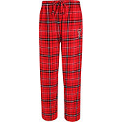 Concepts Sport Men's Texas Tech Red Raiders Red/Black Ultimate Plaid Sleep Pants